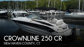 [UNAVAILABLE] Used 2006 Crownline 25 in Milford, Connecticut