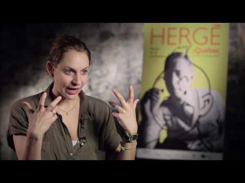 Hergé vu par Léane Labrèche-Dor