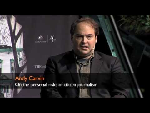 Andy Carvin on the personal risks of citizen journalism