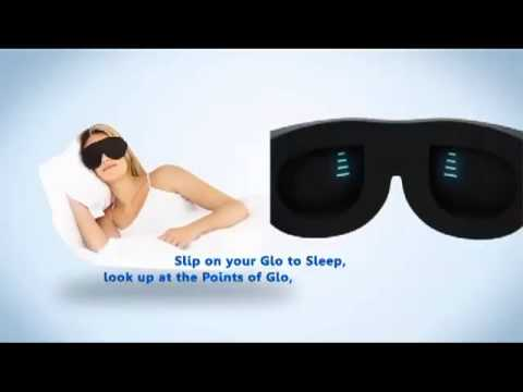 Sound Oasis, Sleep Therapy Mask, Glo To Sleep