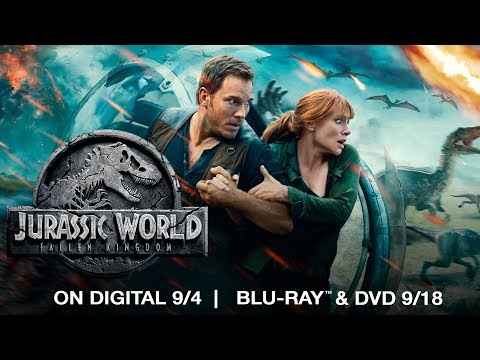 Jurassic World: Fallen Kingdom | Trailer | Now on 4K, Blu-ray, DVD & Digital