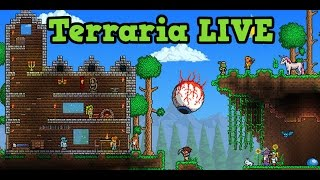 Terraria Console HARDCORE Lets Play LIVE