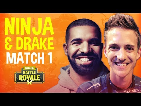 Ninja And Drake Play Duos! Match 1 - Fortnite Battle Royale Gameplay
