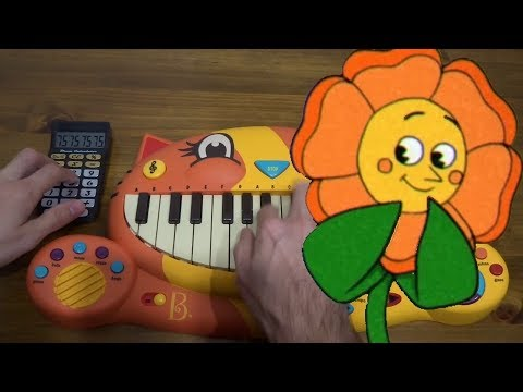 Video Cuphead - Floral Fury ON A CAT PIANO AND A DRUM CALCULATOR download in MP3, 3GP, MP4, WEBM, AVI, FLV January 2017
