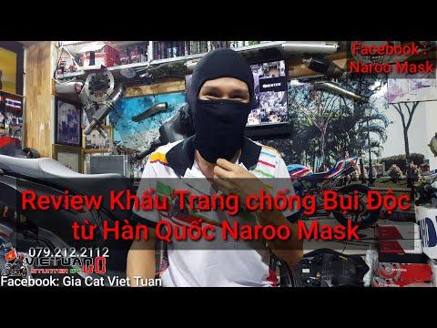 Review khẩu trang chống Bụi Độc Naroo Mask Hàn Quốc từ Kỹ Sư Hẻm. - Thời lượng: 12 phút.