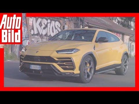 Lamborghini Urus (2018) - Offizieller Trailer zum  ...