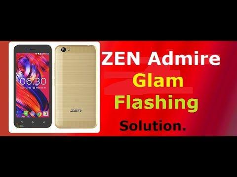 Zen Admire Glam Flashing Solution.Dead Fix.FTP Firmware