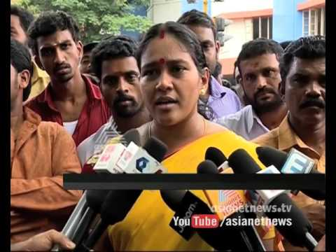 BJP Leader Shobha Surendran Comment on Noushad Death 30 November 2015 03 03 PM