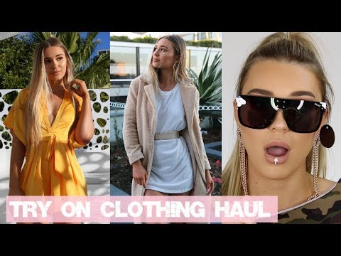 Try On Clothing Haul | SHANI GRIMMOND