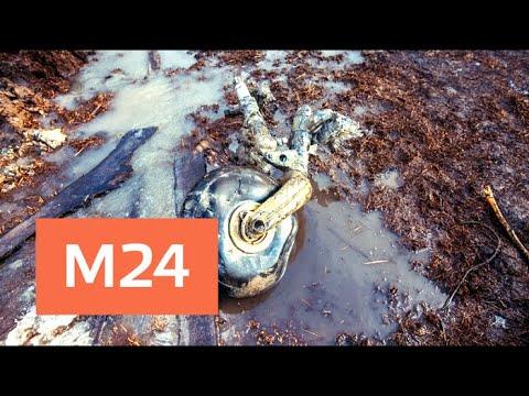 Останки и обломки лайнера обнаружили на месте крушения Ан-148 - Москва 24 (видео)