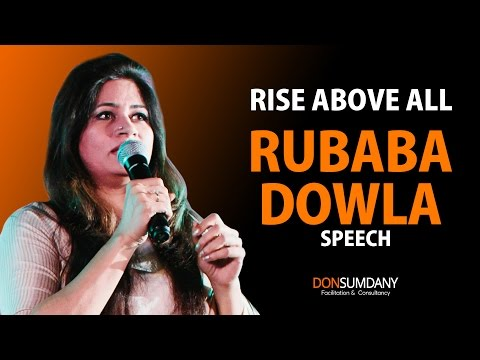 Video Rubaba Dowla - Rise Above All download in MP3, 3GP, MP4, WEBM, AVI, FLV January 2017