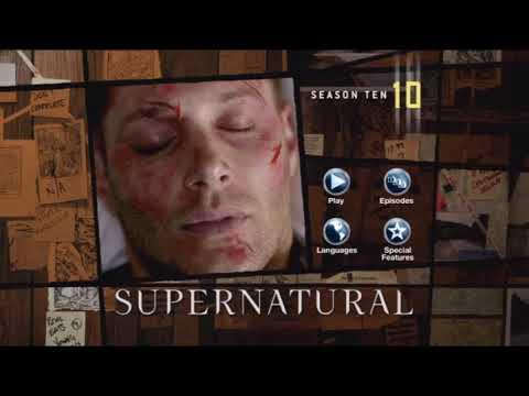 Supernatural Season 10 DVD Menu