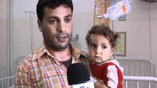 فقر الدم عند اطفال قطاع غزة _حسام شبلاق