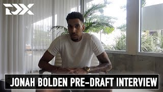 Jonah Bolden - Pre Draft Interview