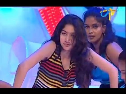 Sai Pallavi Dance At Dhee 4 - Etv Telugu