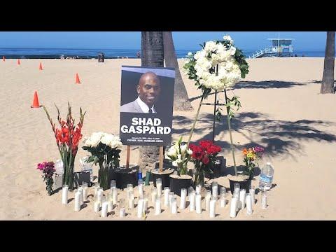 Memorial Held On Venice Beach In Honor Of Former WWE Star Shad Gaspard