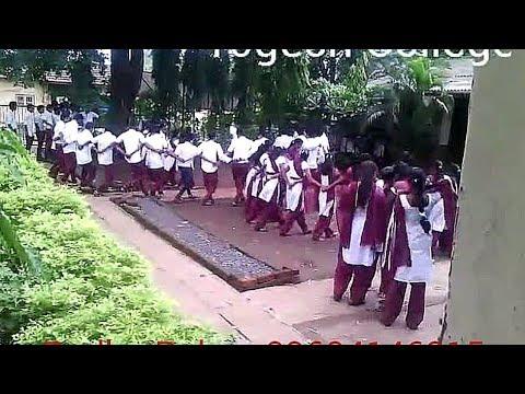 Aadivasi Village Talasari Collage Godavari Tarpa dance Girls