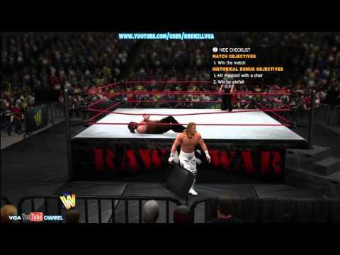 Lets Play WWE 13 Attitude Era Part 1
