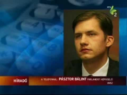 Híradó - Pásztor Bálint a 2012-es évi költségvetésről-cover