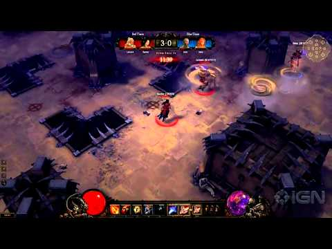 Diablo 3 PvP Gameplay