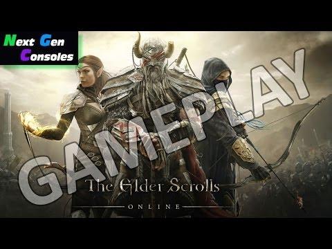 elder scrolls online ps4 gameplay xbox one