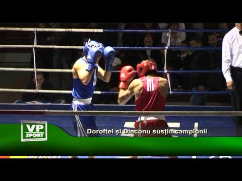 Doroftei și Diaconu susțin campionii
