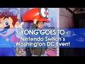 Yong Goes to Nintendo Switch's Washington DC Event