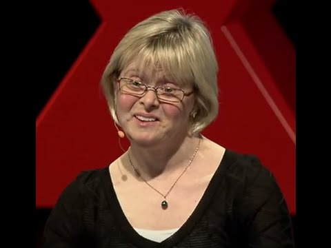 Watch video I have one more chromosome than you. So what? | Karen Gaffney | TEDxPortland