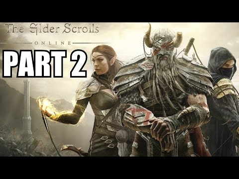 The Elder Scrolls Online Gameplay Walkthrough Part 2 – Storm On The Horizon Review Playthrough