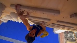 PULLING HARD AND SMILING :) by Eric Karlsson Bouldering