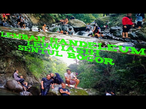 #ExploreBogor #Sentul CURUG SENTUL LEMBAH HANDELEUM LEUWIASIH WANGUN SENTUL BOGOR