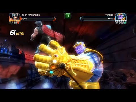 Marvel Contest Of Champions - Thanos Infinity Final Battle