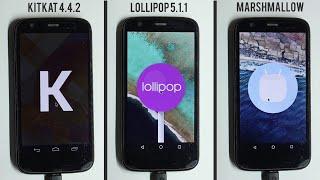 Video Marshmallow 6.0 vs Lollipop 5.1.1 vs Kitkat 4.4.2 Performance Benchmarks+App opening Speed Test MP3, 3GP, MP4, WEBM, AVI, FLV Oktober 2018