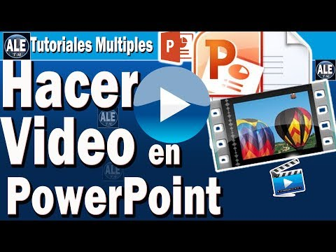 Como Hacer Videos En Power Point | Editar, Gravar Voz En Power Point,