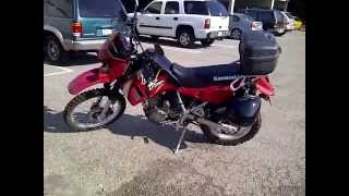 4. 2004 Kawasaki KLR650 Review