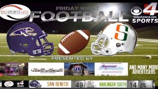 San Benito @ Harlingen South Football Game (Audio Broadcast)