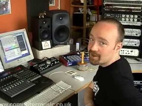 producer - Eclectic electronica/hip-hop producer Mr Scruff (aka Andy Carthy) builds a track from scratch (with a little help from collaborator Andy Kingslow) in this ...