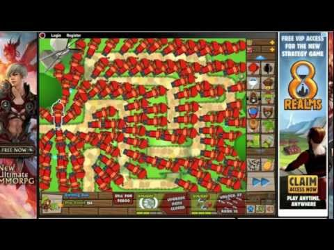 Bloons Tower Defense 5 MADNESS Episode 2 Dartling Monkeys