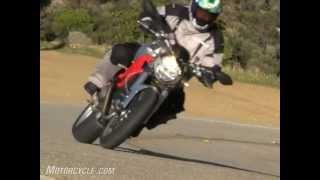 8. Ducati Monster 1100 Vs. Harley-Davidson XR1200 Motorcycle Review