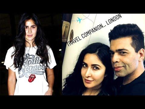 Katrina Kaif, Karan Johar And Manish Malhotra Leav