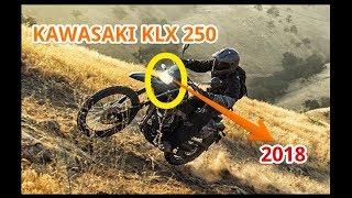 5. 2018 Kawasaki KLX250 Announced