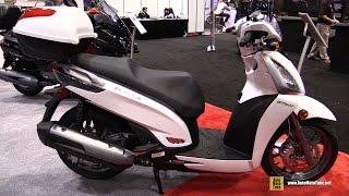10. 2016 Kymco People GT 300i Scooter - Walkaround - 2015 AIMExpo Orlando