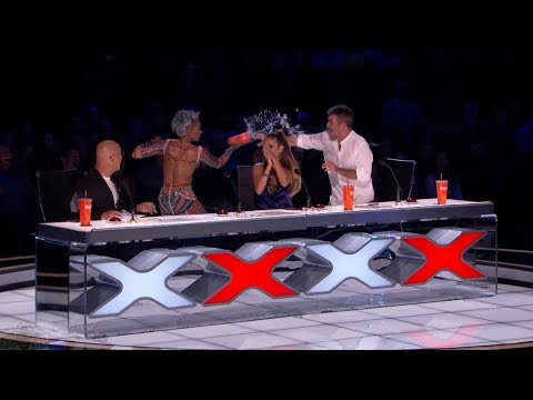 America's Got Talent 2017 Demian Aditya Full Simon Disses Mel B's Wedding Night Live Shows (видео)