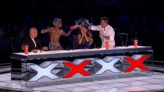 Download Video America's Got Talent 2017 Demian Aditya Full Simon Disses Mel B's Wedding Night Live Shows MP3 3GP MP4
