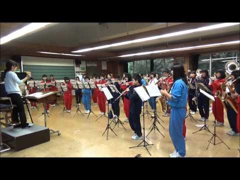『佐久平マーチングバンド発表会』軽井沢中学校 吹奏楽部 取材映像
