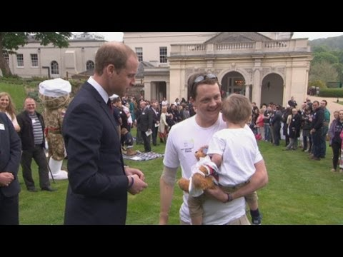 harry - The Princes have opened the Help for Heroes Recovery Centre with Prince William saying that the public must continue to support it. Report by Ashley Fudge. S...