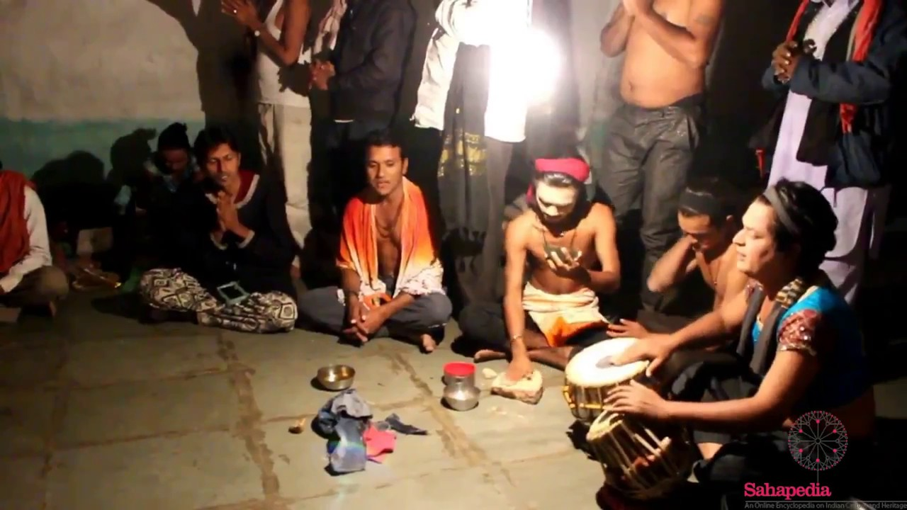 A Night of Bhavai in the Hinterland