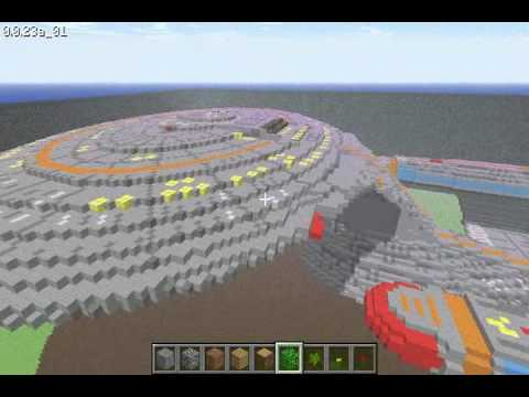 Minecraft USS Enterprise
