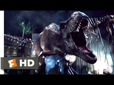 Jurassic World (2015) - T-Rex vs. Indominus (9/10)   Jurassic Park Fansite