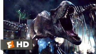 Jurassic World (2015) - T-Rex vs. Indominus (9/10) | Jurassic Park Fansite